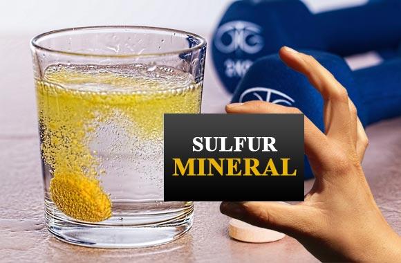 mineral sulfur